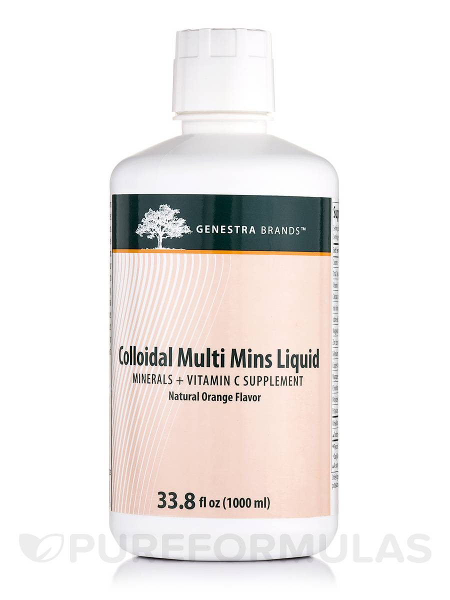 Colloidal Multi Mins Liquid - 33.8 fl. oz (1000 ml)