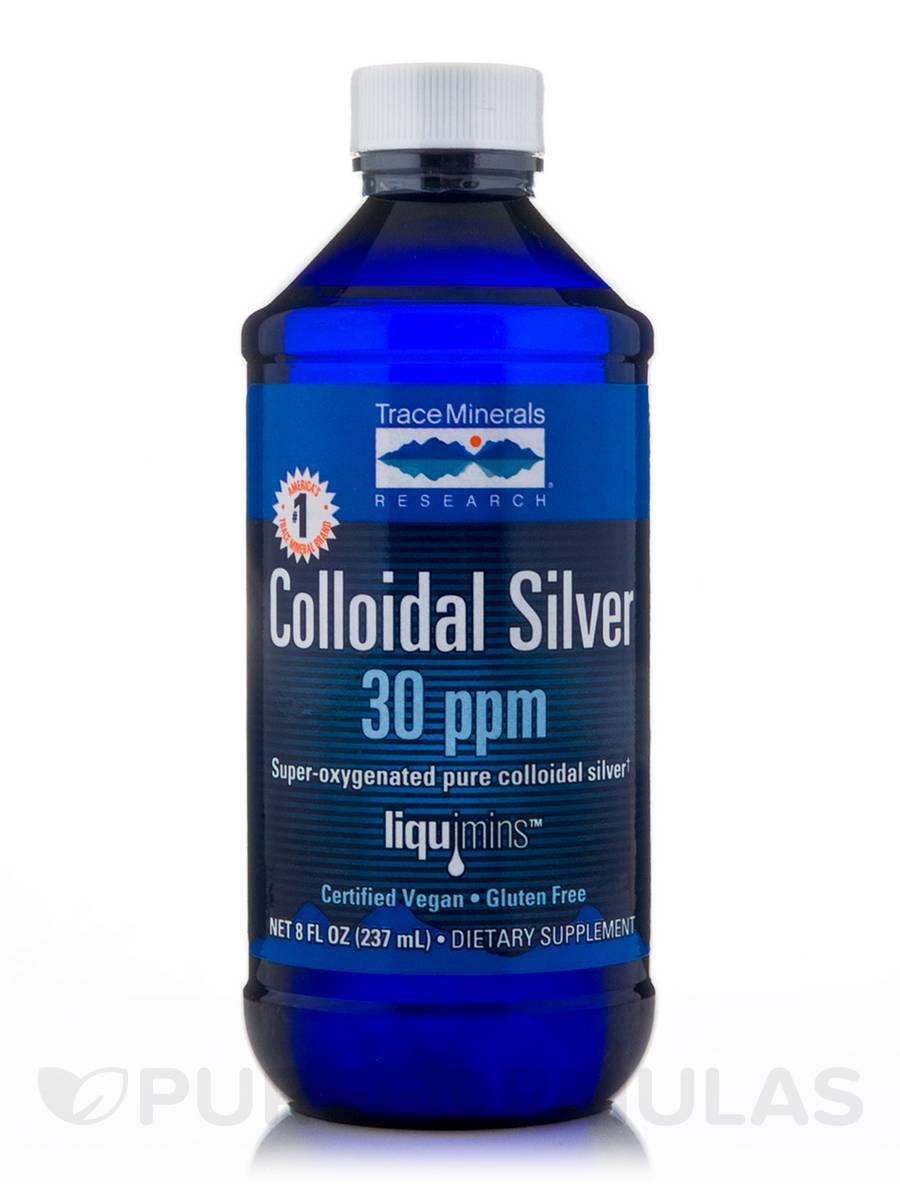 Colloidal Silver 30 ppm - 8 fl. oz (237 ml)