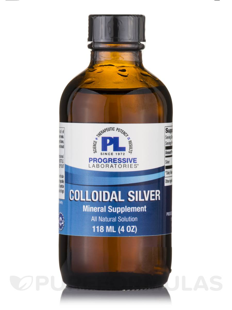 Colloidal Silver - 4 oz (118 ml)