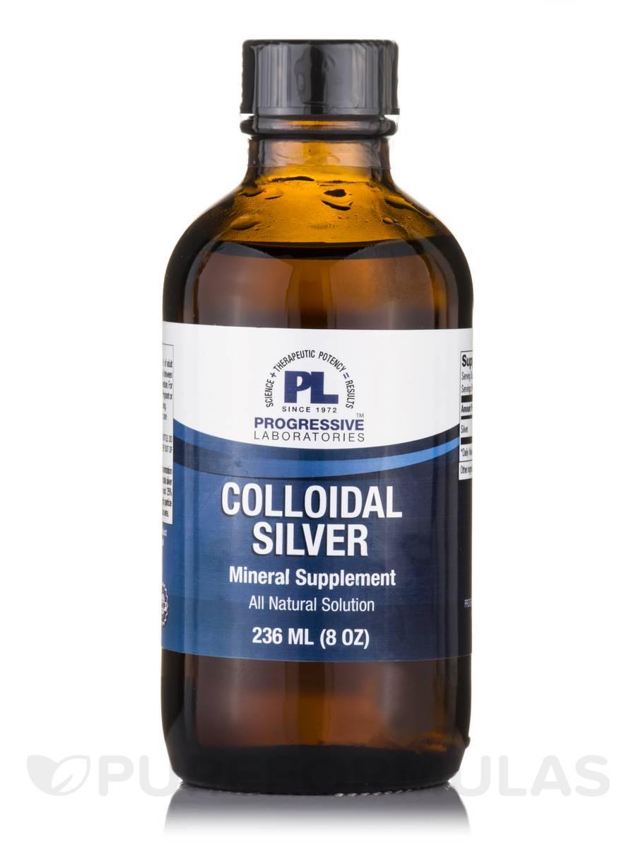 Colloidal Silver - 8 oz (236 ml)