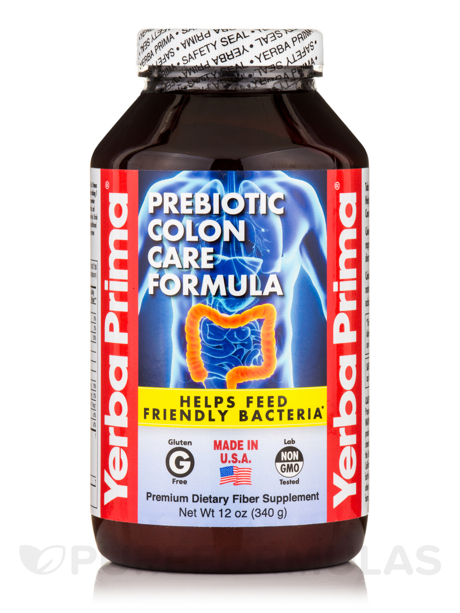 Prebiotic Colon Care Formula - 12 oz (340 Grams)