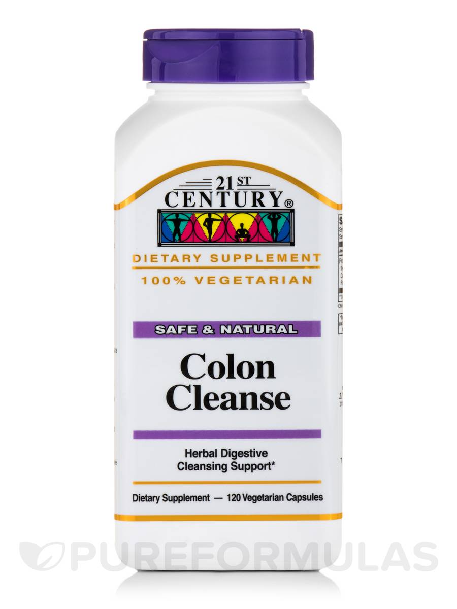 Colon Cleanse - 120 Vegetarian Capsules