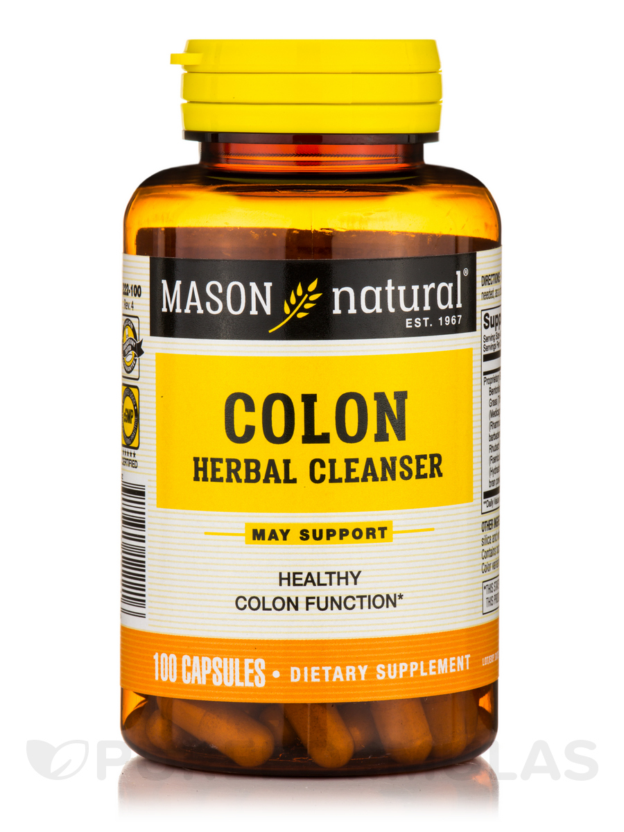 Colon Herbal Cleanser - 100 Capsules