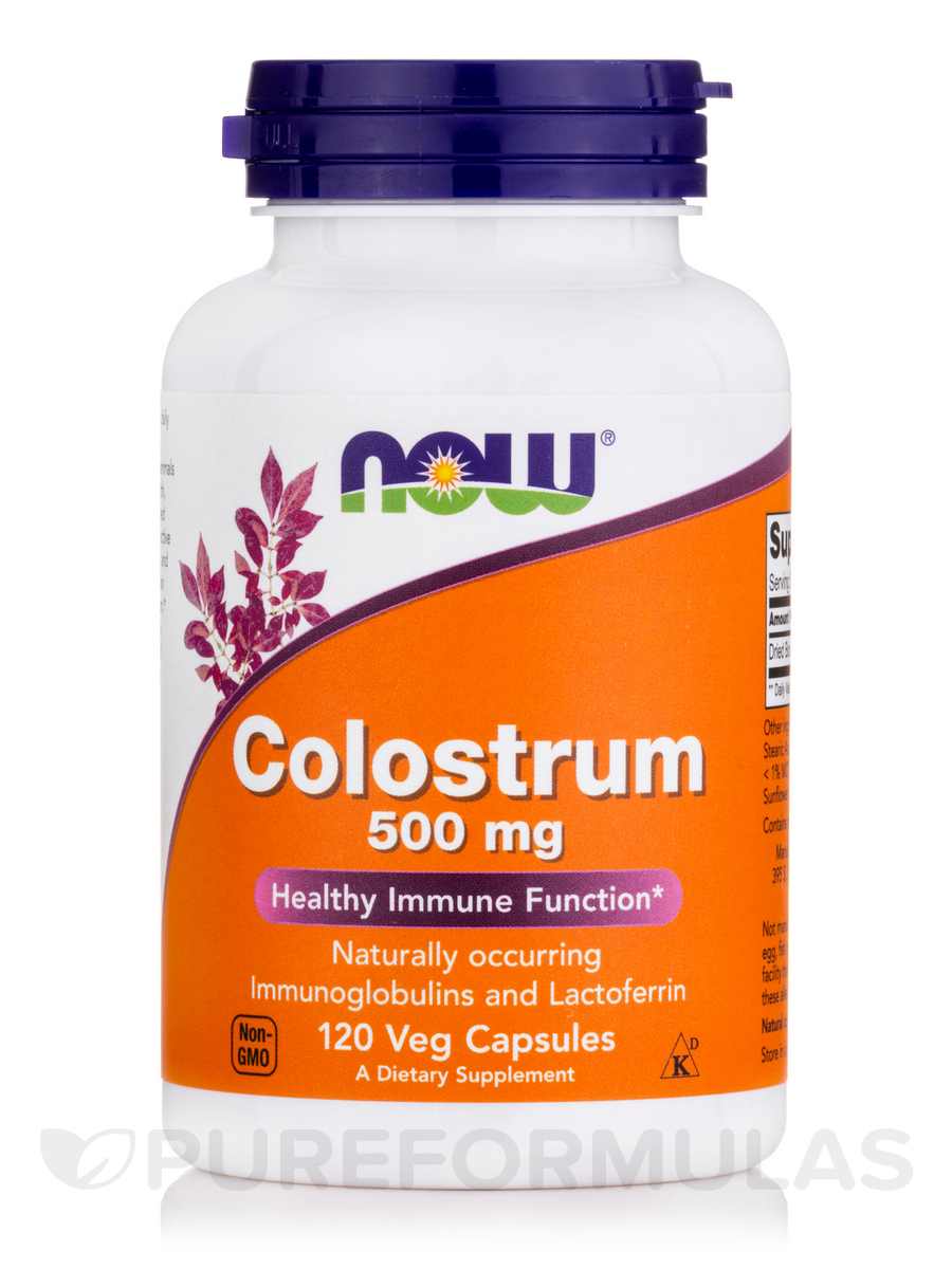 Colostrum 500 mg - 120 Veg Capsules