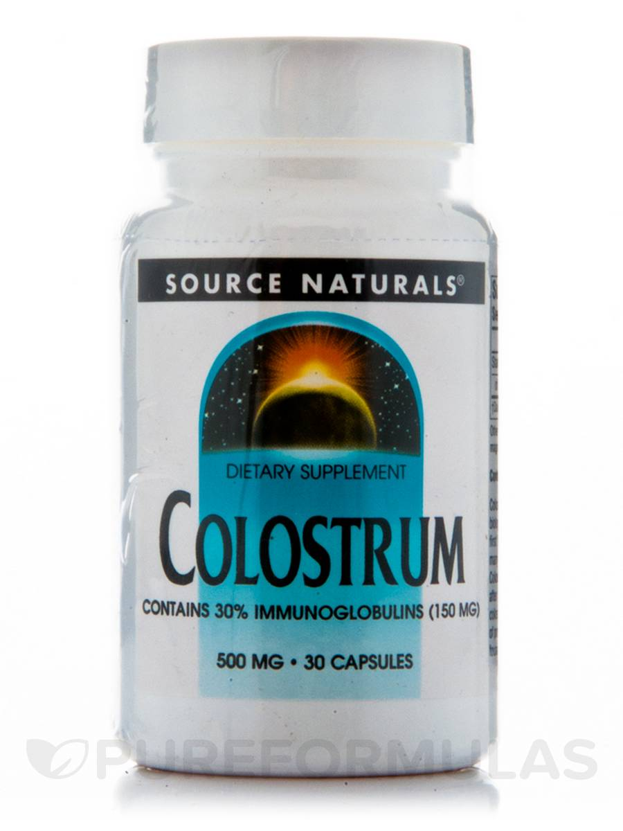 Colostrum 500 mg - 30 Capsules