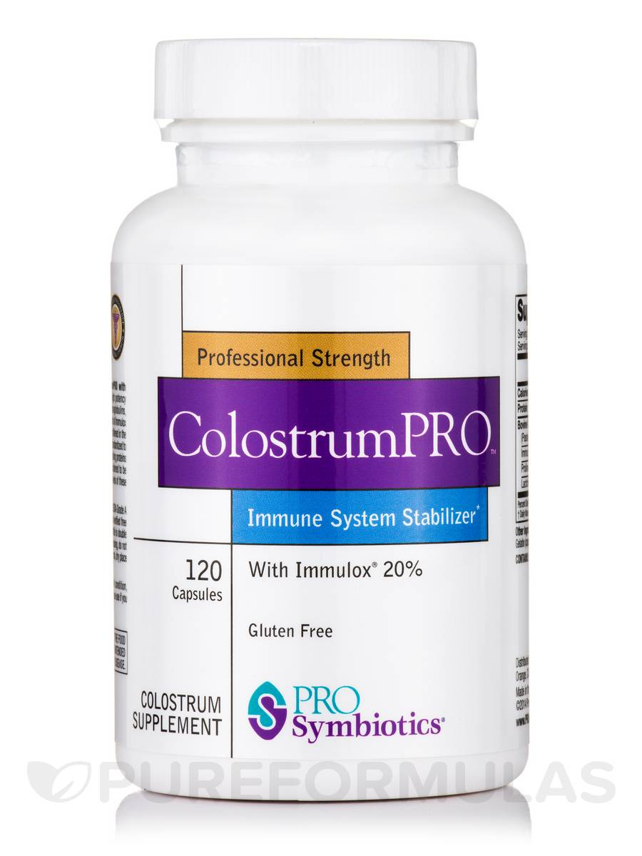 ColostrumPRO™ with Immulox® 20% - 120 Capsules