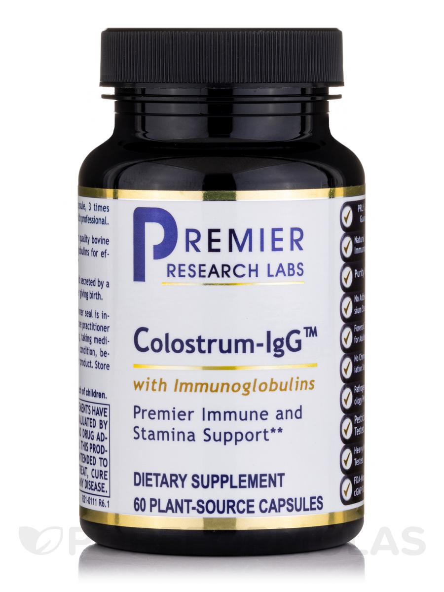 Colostrum-IgG™ - 60 Vegetarian Capsules