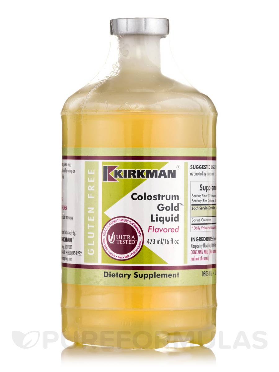 Colostrum Gold Liquid Flavored - 16 fl. oz (473 ml)