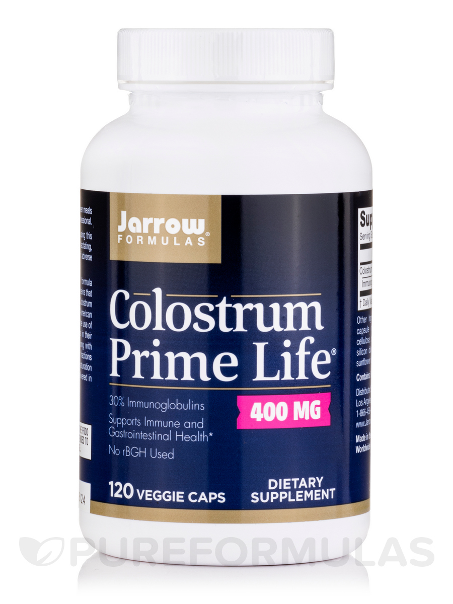 Colostrum Prime Life 500 mg - 120 Capsules