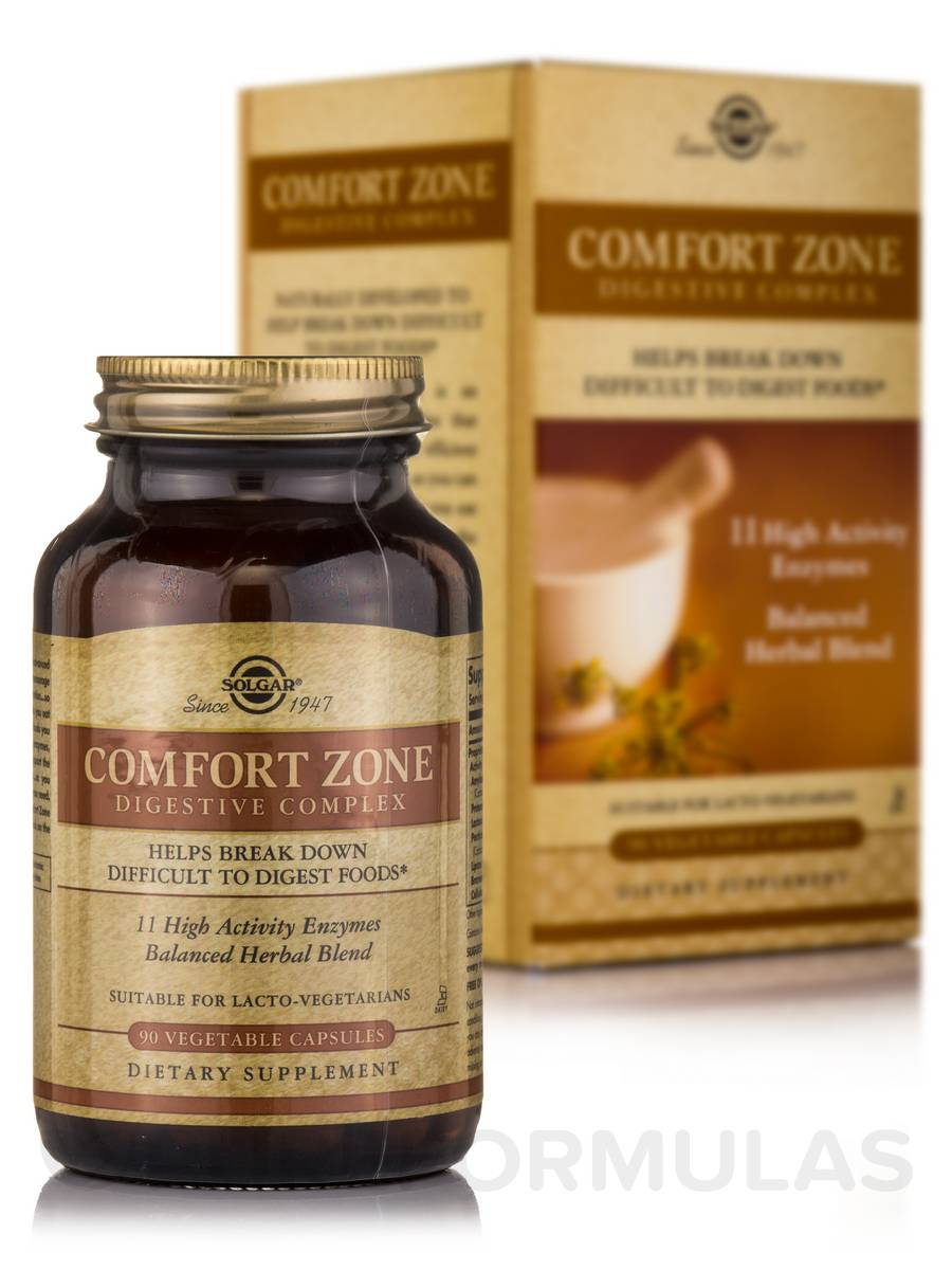 Comfort Zone Digestive Complex - 90 Vegetable Capsules
