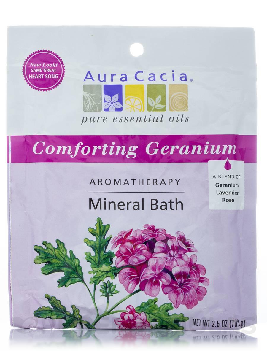 Comforting Geranium (Heart Song) Aromatherapy Mineral Bath - 2.5 oz (70.9 Grams)