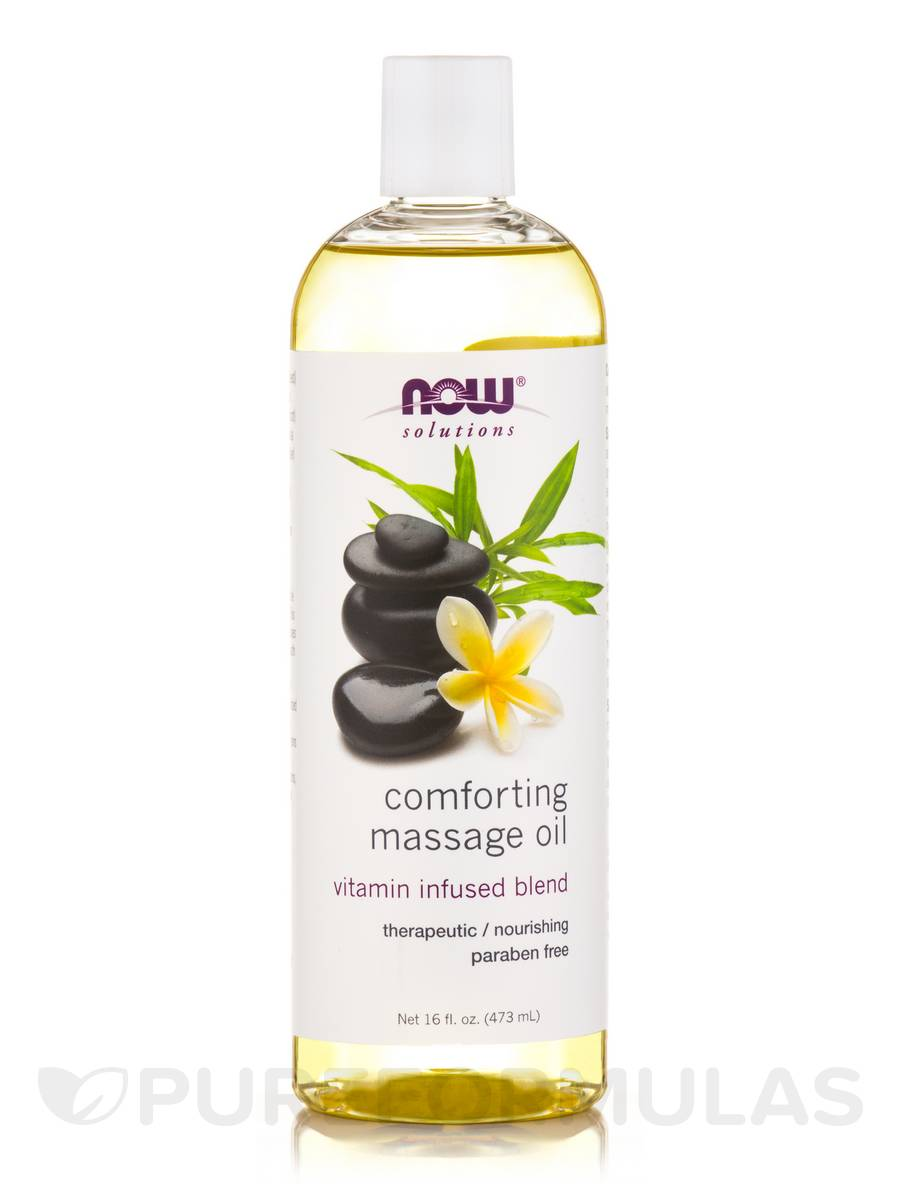 NOW® Solutions - Comforting Massage Oil - 16 fl. oz (473 ml)