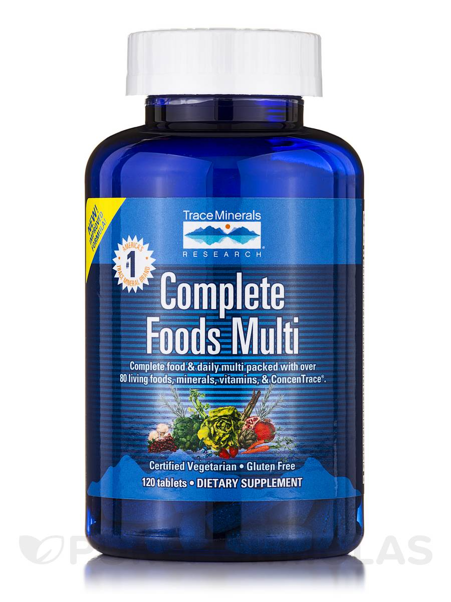 Complete Foods Multi - 120 Tablets