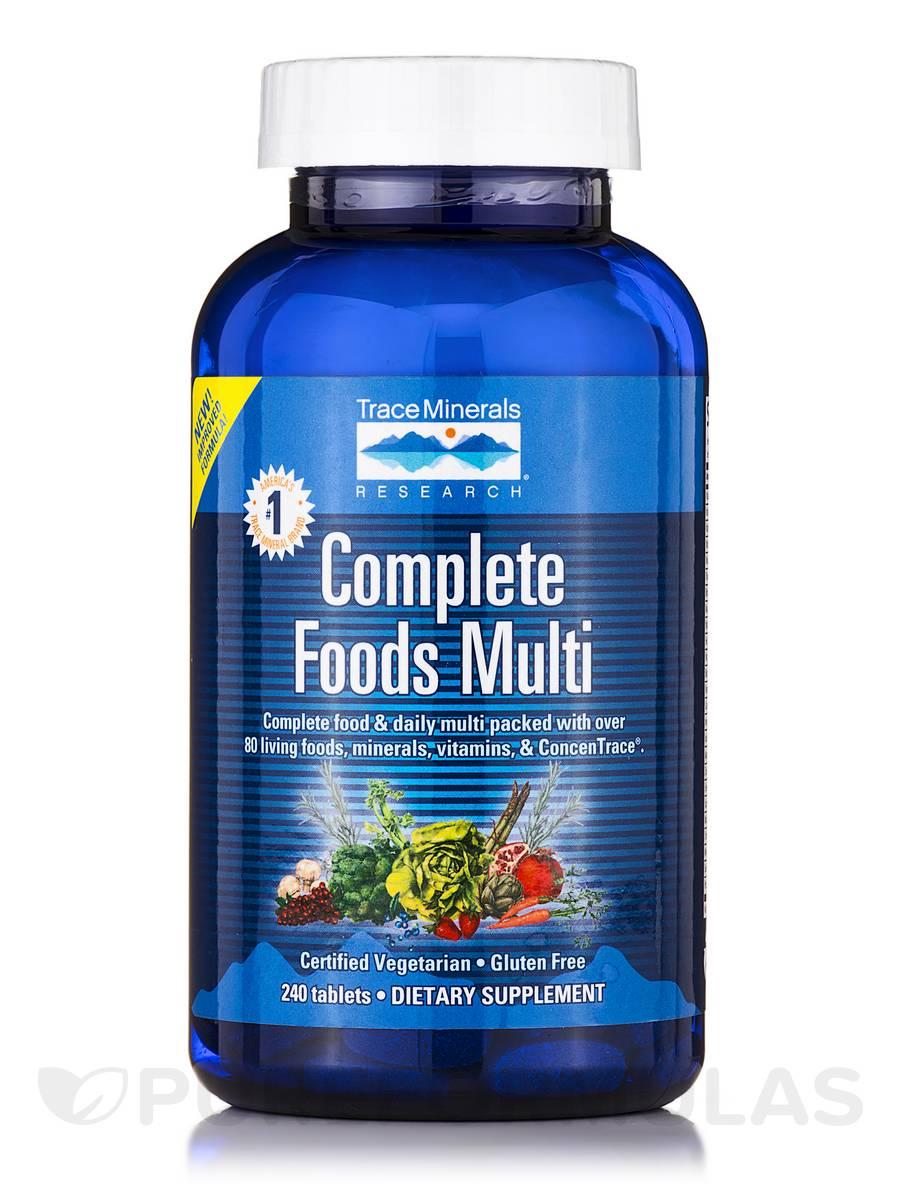 Complete Foods Multi - 240 Tablets