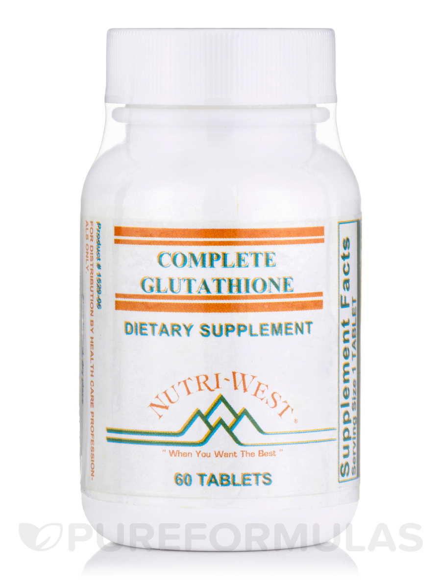 Complete Glutathione - 60 Tablets