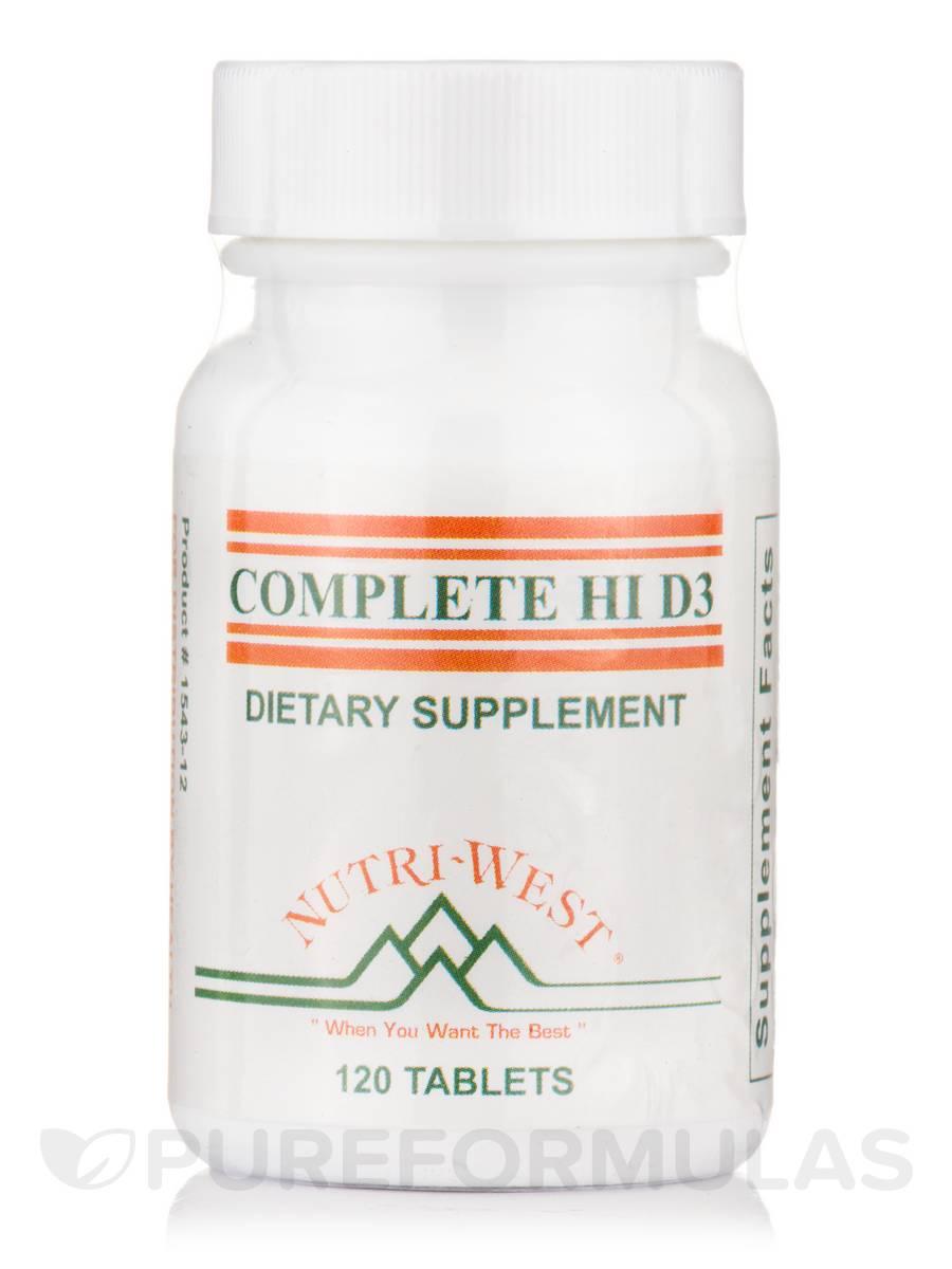 Complete Hi D3 - 120 Tablets