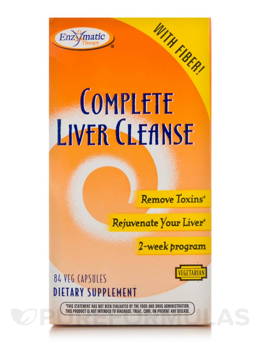 Complete Liver Cleanse - 84 Vegetable Capsules
