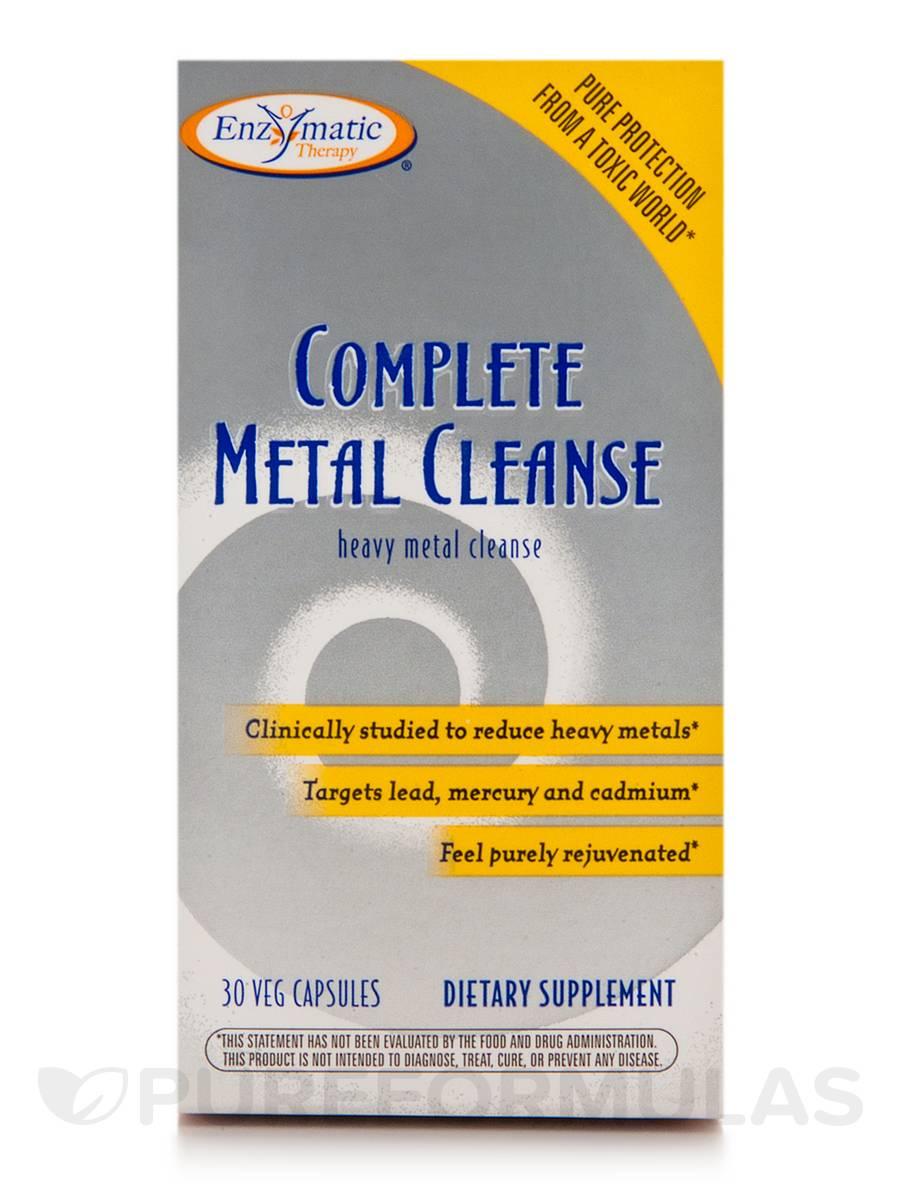 Complete Metal Cleanse - 30 Vegetable Capsules