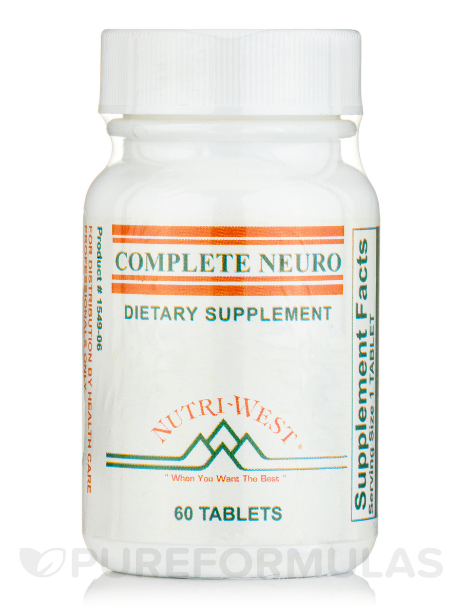 Complete Neuro - 60 Tablets