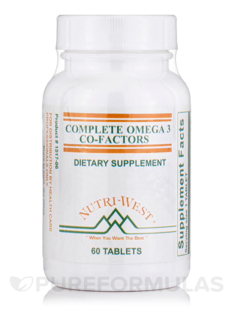 Complete Omega-3 Co-Factors (Adult Formula) - 60 Tablets