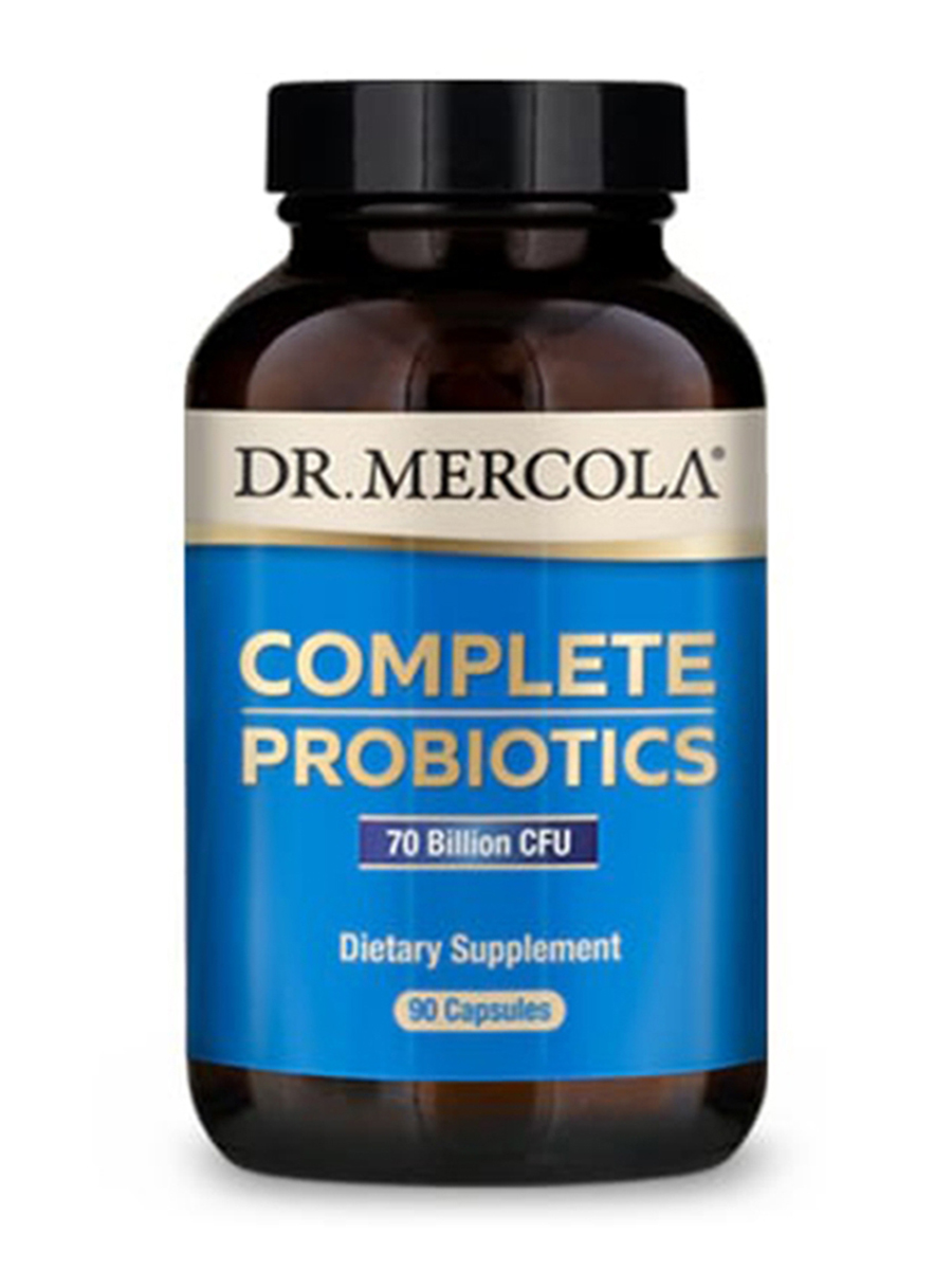 Complete Probiotics, 70 Billion CFU / 10 Strains - 180 Capsules