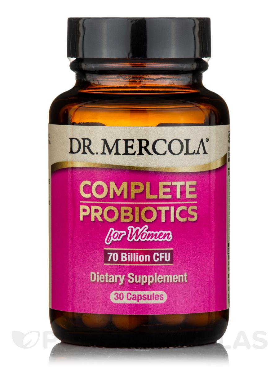 Complete Probiotics for Women, 70 Billion CFU - 30 Capsules