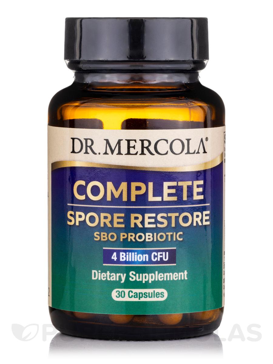 Complete Spore Restore - 4 Billion CFU - 30 Capsules