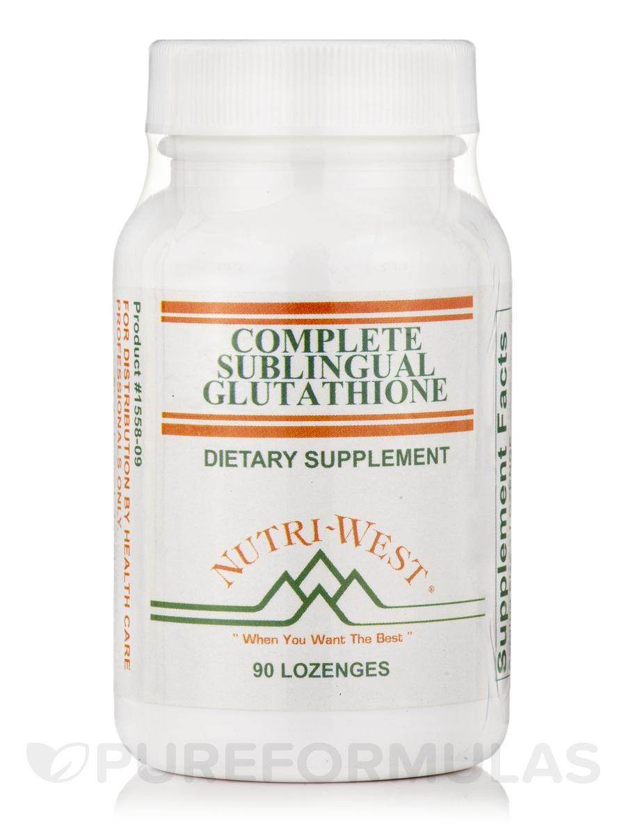 Complete Sublingual Glutathione - 90 Lozenges