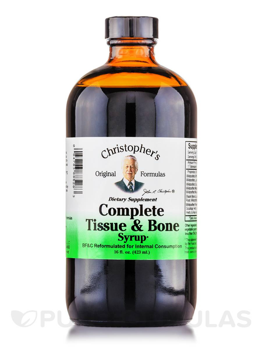 Complete Tissue & Bone Syrup - 16 fl. oz (423 ml)