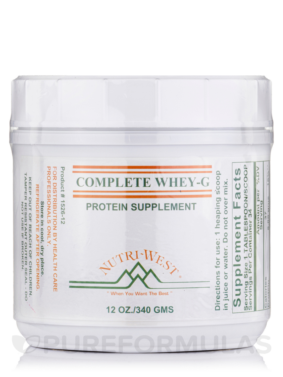 Complete Whey-G (Protein Powder) - 12 oz (340 Grams)