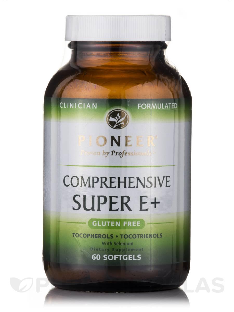 Comprehensive Super E+ - 60 Softgels