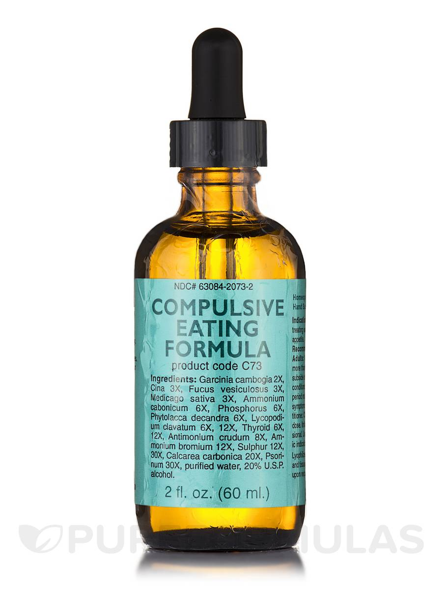 Compulsive Eating Formula - 2 fl. oz (60 ml)