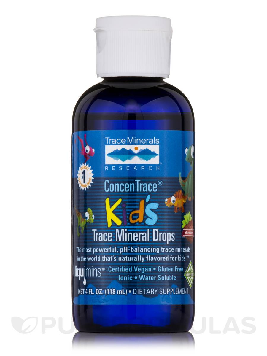 ConcenTrace® Kid's Trace Mineral Drops - 4 fl. oz (118 ml)