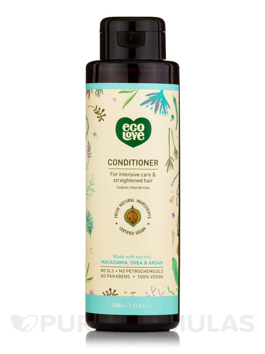 Conditioner, For Intensive Care & Straightened Hair - Macadamia, Shea & Argan (Nut Oils) - 17.6 fl. oz (500 ml)