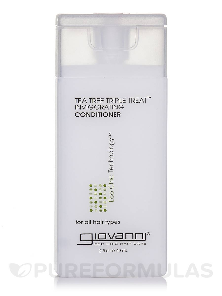 Tea Tree Triple Treat™ Invigorating Conditioner - 2 fl. oz (60 ml)