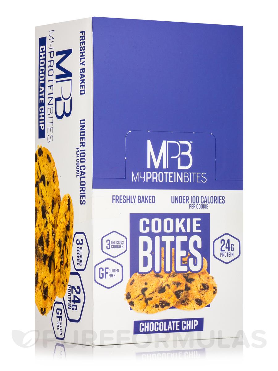 Cookie Bites Chocolate Chip - 8 - 2.5 oz (72 Grams) 3 Pack Cookies