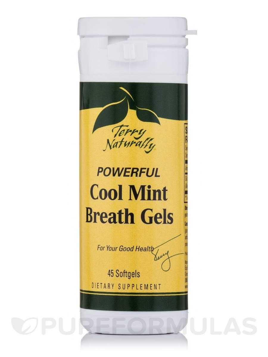 Cool Mint Breath Gels - 45 Softgels