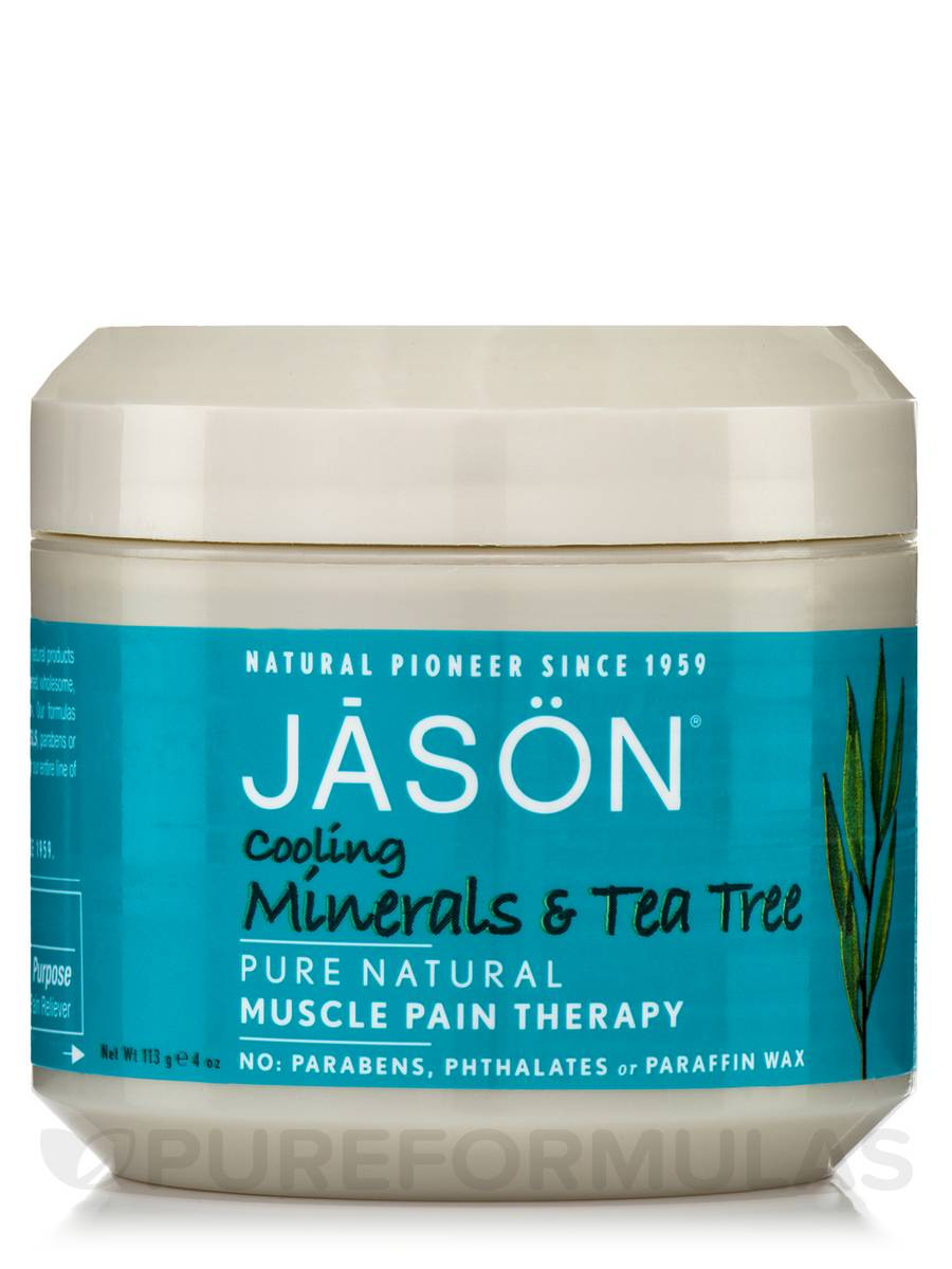 Cooling Minerals & Tea Tree Muscle Pain Therapy - 4 oz (113 Grams)