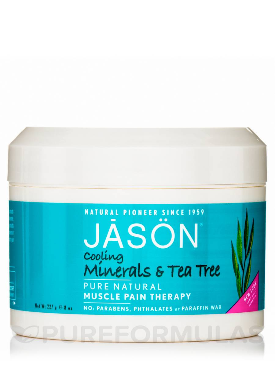 Cooling Minerals & Tea Tree Muscle Pain Therapy - 8 oz (227 Grams)