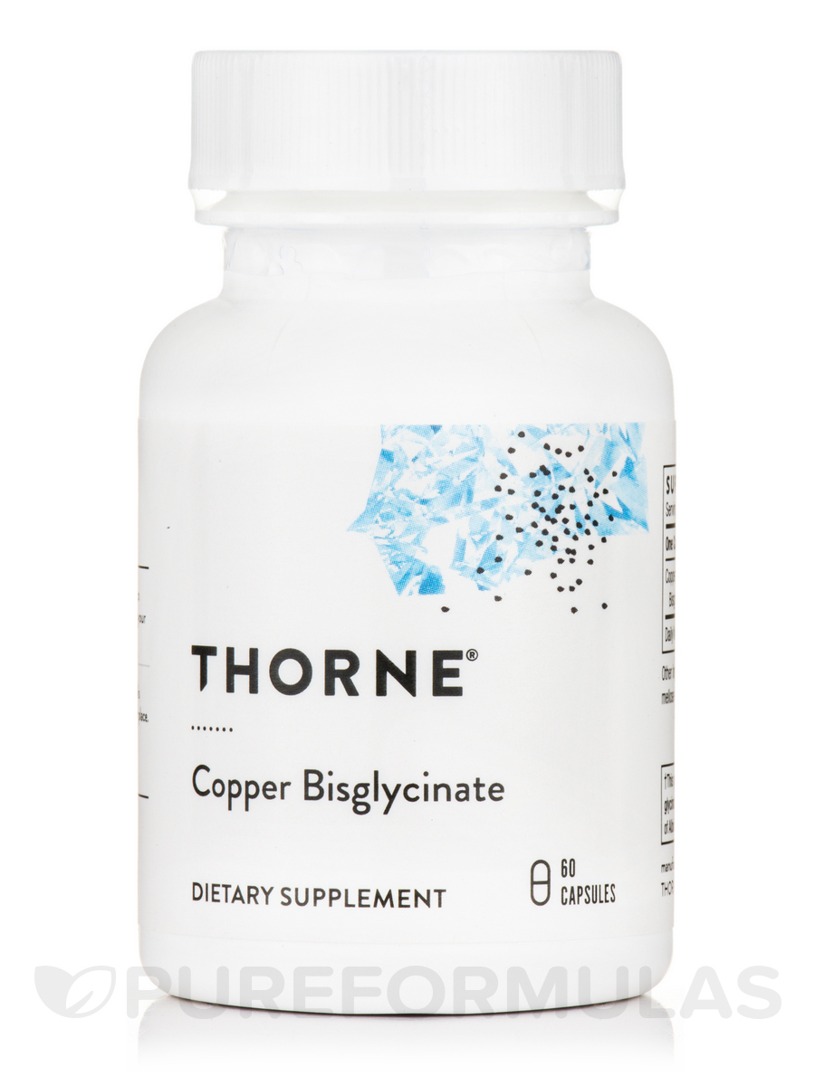 Copper Bisglycinate - 60 Capsules