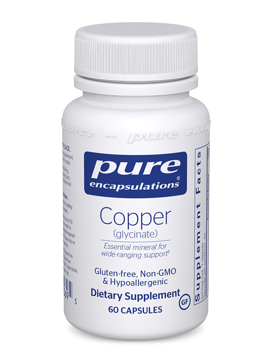 Copper (Glycinate) - 60 Capsules