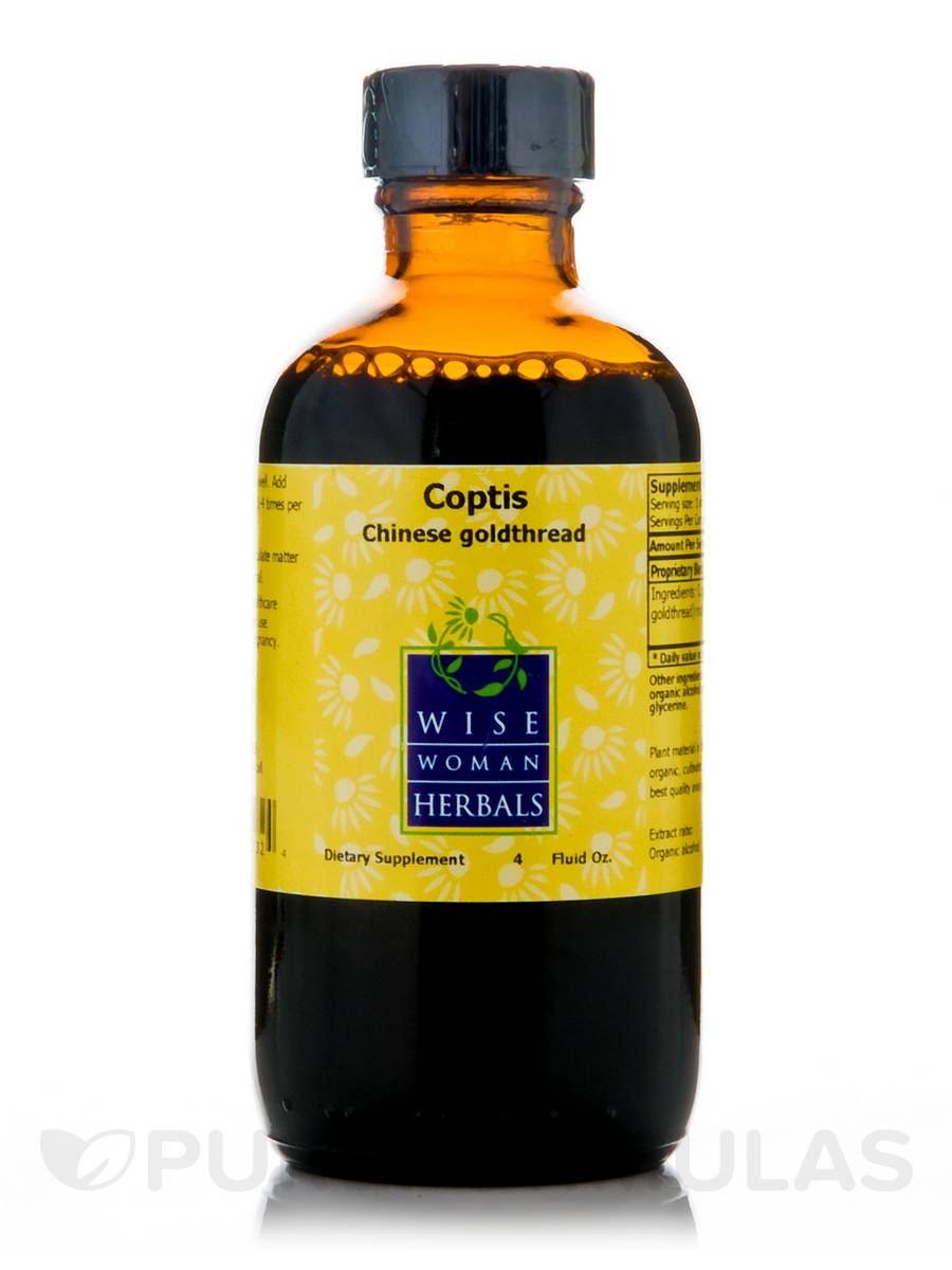 Coptis (Chinese Goldthread) - 4 fl. oz