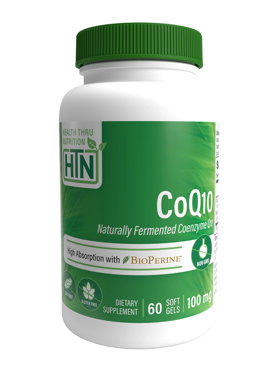 CoQ-10 100 mg with BioPerine - 120 Softgels