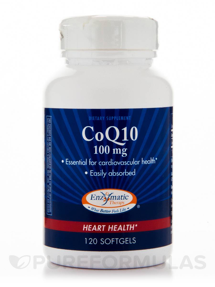 CoQ10 100 mg - 120 Softgels