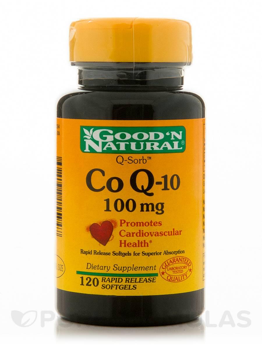 CoQ-10 100 mg - 120 Softgels