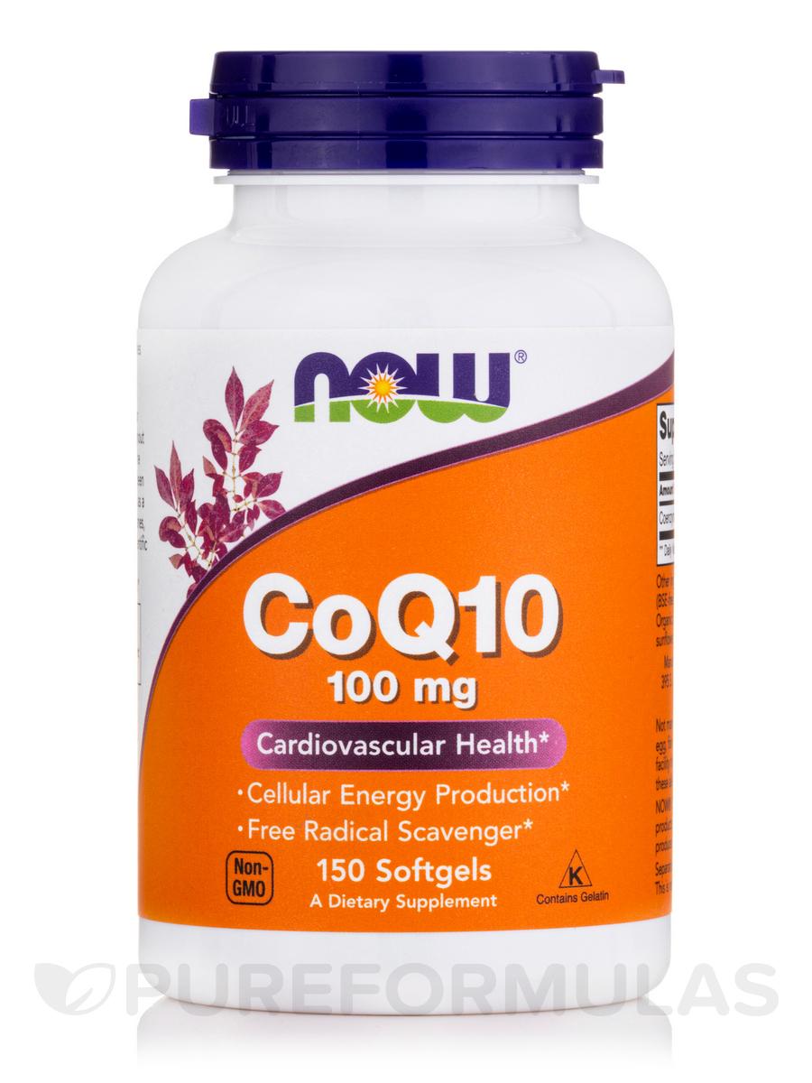 CoQ10 100 mg - 150 Softgels