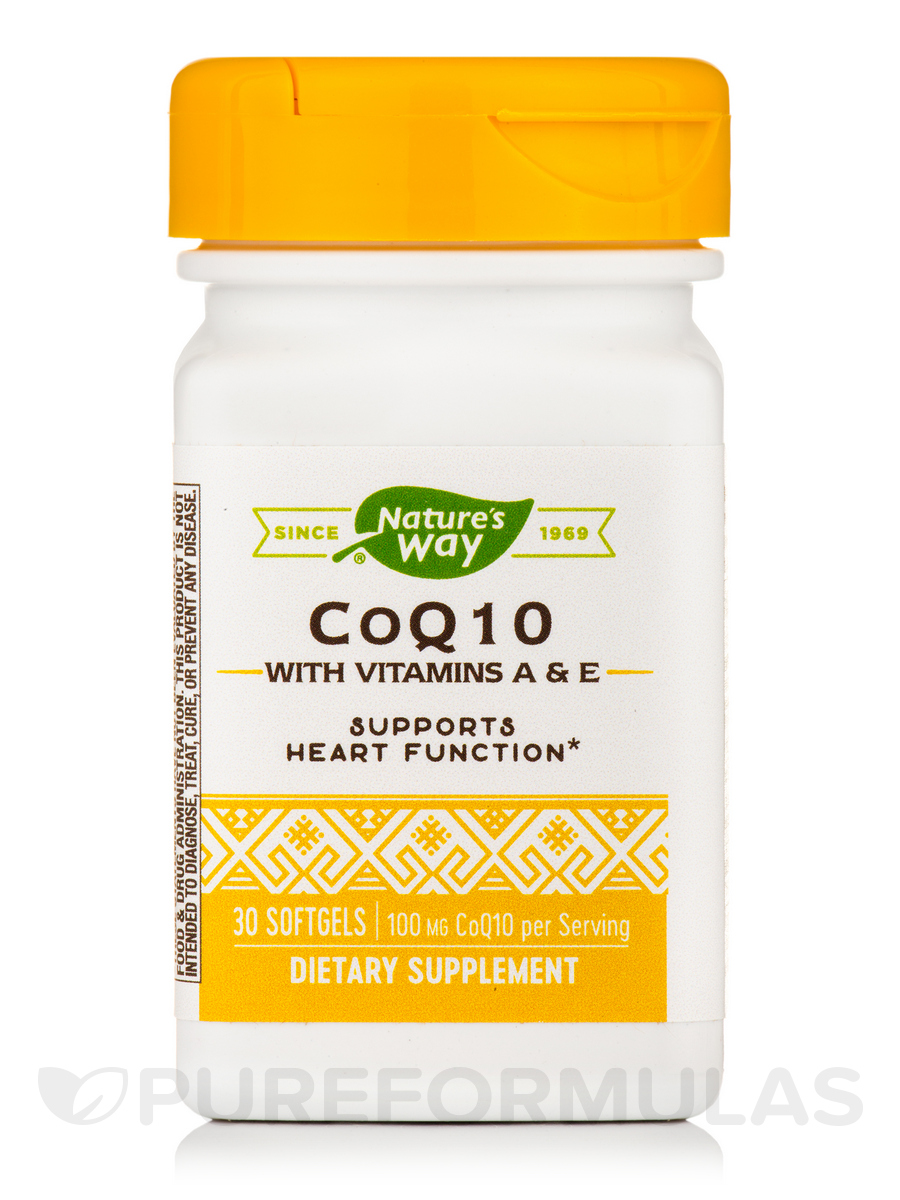 CoQ10 100 mg - 30 Softgels
