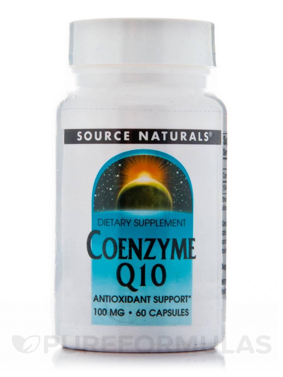 Co-Q10 100 mg - 60 Capsules