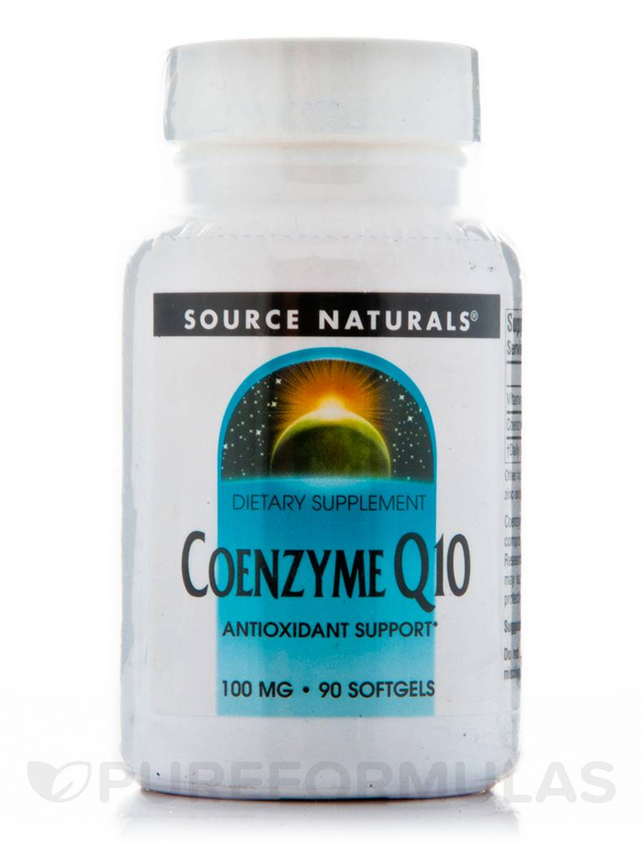 Co-Q10 100 mg - 90 Softgels