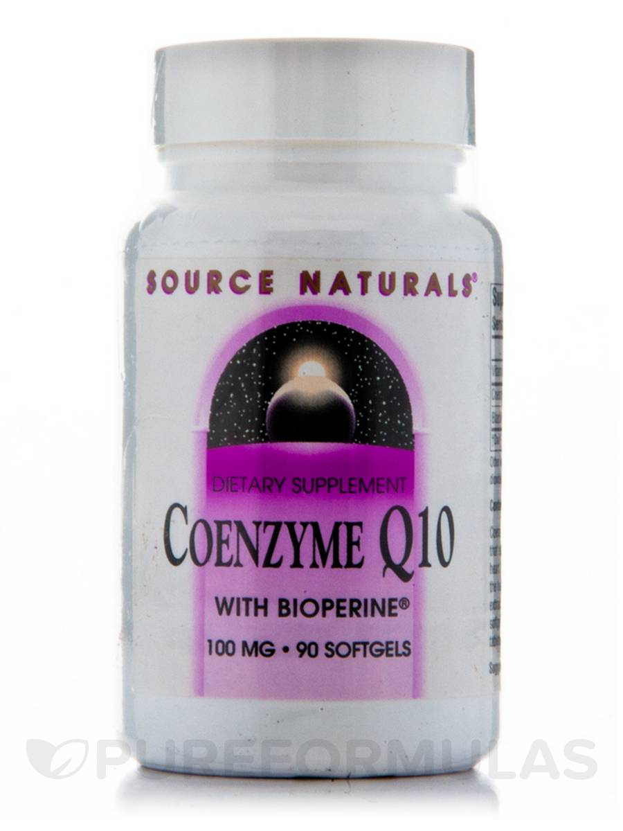 Co-Q10 100 mg with Bioperine - 90 Softgels